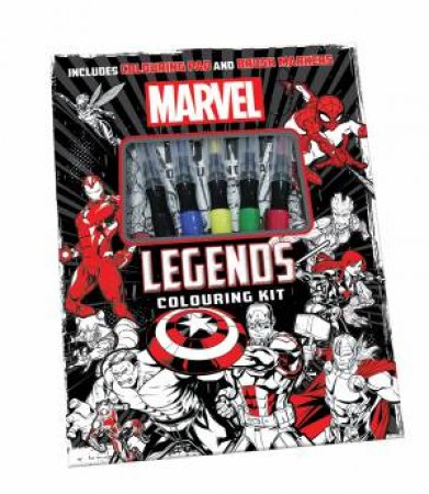 Marvel: Colouring Kit by Various