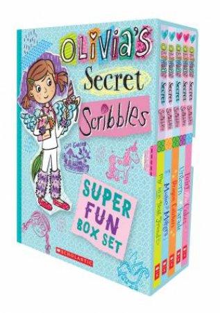 Olivia's Secret Scribbles Super Fun Box Set