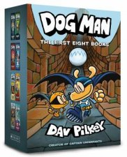 Dog Man The First Eight Books