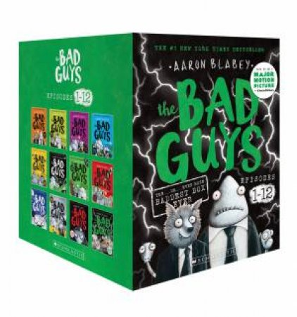 The Bad Guys 1-12 Boxed Set by Aaron Blabey