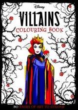 Disney Villains Adult Colouring
