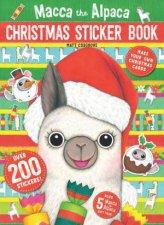 Macca The Alpaca Christmas Sticker Book