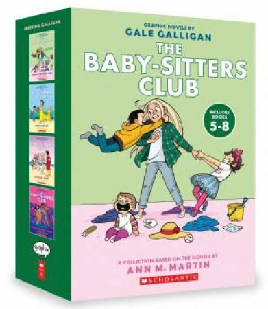 The Baby-Sitters Club Graphix 4 Book Box Set