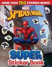 SpiderMan Super Sticker Book