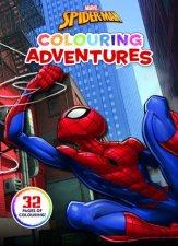 SpiderMan Colouring Adventures