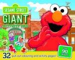 Sesame Street Giant Activity Pad