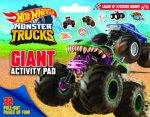 Hot Wheels Monster Trucks Giant Activity Pad