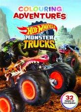 Hot Wheels Monster Trucks Colouring Adventures