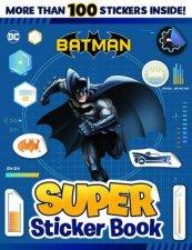 DC Comics Batman Super Sticker Book