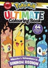 Pokmon Sinnoh Region Ultimate Colouring Book