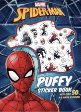 SpiderMan Puffy Sticker Book