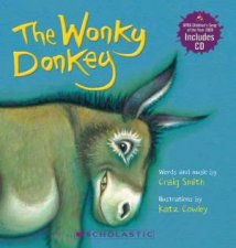 The Wonky Donkey Board Book with CD