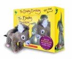 The Dinky Donkey Boxed Set  Plush  Minibook