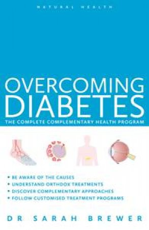 Natural Health: Diabetes New Edn by Dr Sarah Brewer