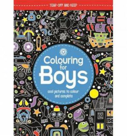 Colouring Book for Boys by Jessie Eckel
