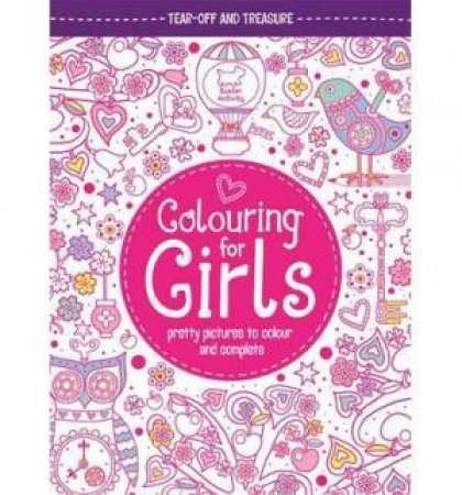 Colouring Book for Girls by Jessie Eckel