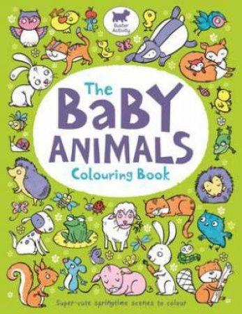 The Baby Animals Colouring Book by Hannah Wood & Ela Jarzabek