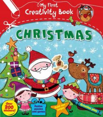 My First Creativity Book: Christmas by Mandy Archer