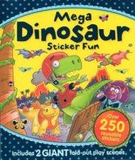 Mega Dinosaur Sticker Fun by Various