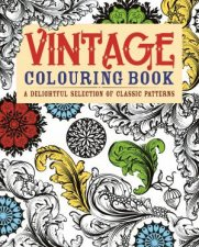 Vintage Colouring Book by Various