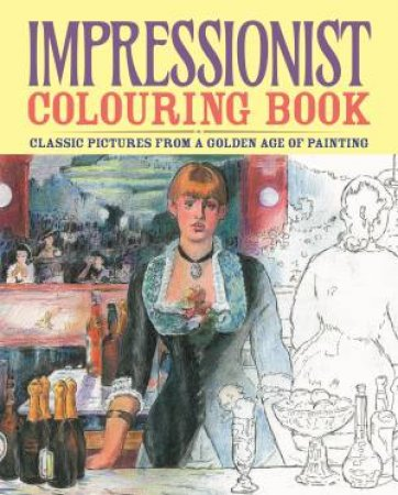 Impressionist Colouring Book