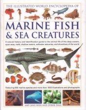 The Illustrated World Encyclopedia Of Marine Fish  Sea Creatures