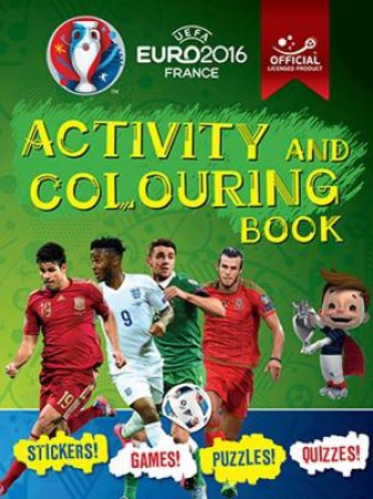 UEFA Euro 2016 France Activity and Colouring Book