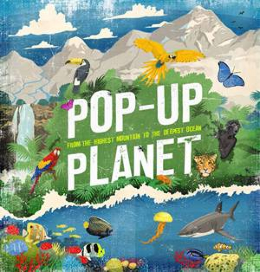 Pop-Up Planet by Various [Hardcover]