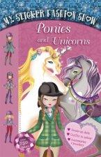 My Sticker Fashion Show Ponies and Unicorns