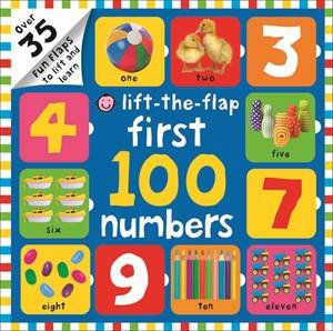 Lift-The-Flap: First 100 Numbers by Various
