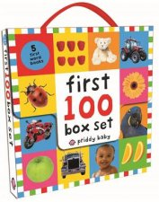 First 100 Box Set by Roger Priddy