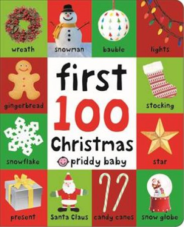 First 100 Soft To Touch Christmas Words