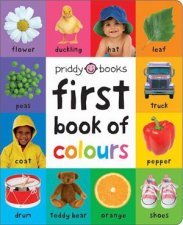First 100 Soft To Touch First Book Of Colours
