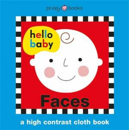 Hello Baby Cloth Faces by Roger Priddy