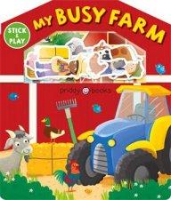 My Busy Farm Magic Sticker Play  Learn