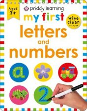 Wipe Clean Easels My First Letters And Numbers