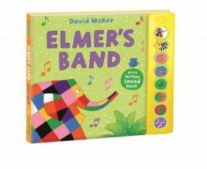 Elmer's Band: A Press-Button Sound Book
