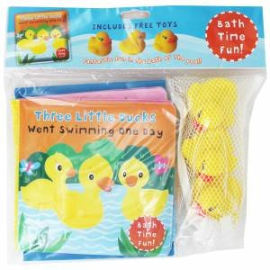 Bath Time Fun: Three Little Ducks Went Swimming One Day