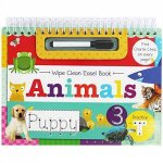 Wipe Clean Easel Book With Pen: Animals by Various