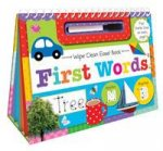 Wipe Clean Easel Book With Pen First Words