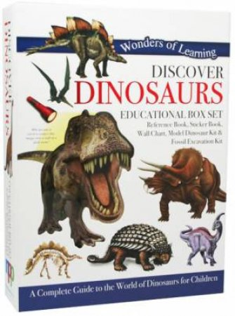 Wonders Of Learning: Discover Dinosaurs (Educational Box Set) by Various