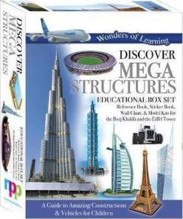 Wonders Of Learning: Discover Megastructures (Educational Box Set) by Various