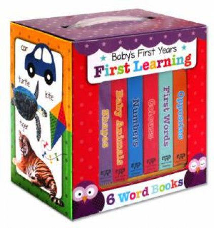 Look & Learn Baby's First Early Learning Book Set by Various