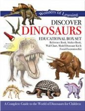 Wonders Of Learning Discover Dinosaurs Educational Box Set