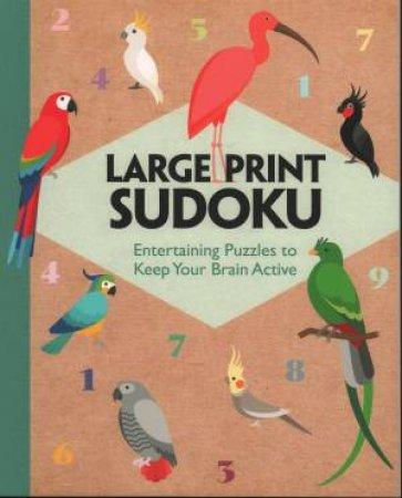 Rustic Large Print Sudoku