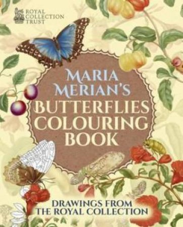 Butterflies Colouring Book by Maria Merian