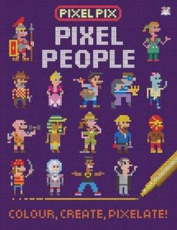 Pixel Pix Pixel People by Barry Green