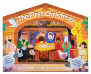 First Christmas: Press Out Nativity Play Set by Susie Linn