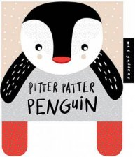 Wee Gallery Cloth Books: Pitter Patter Penguin by Surya Sajnani