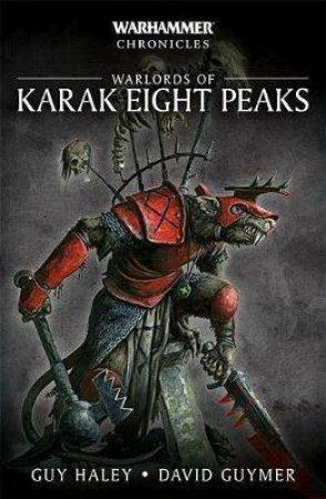 Warlords of Karak Eight Peaks (Warhammer) by Guy Haley